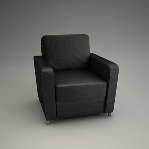 Basic Armchair 3d model