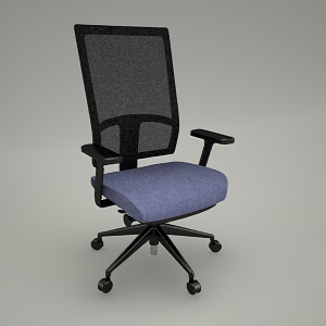 free 3d models - Swivel chair eXXo EX 102