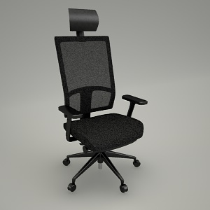 free 3d models - Swivel chair eXXo EX 103