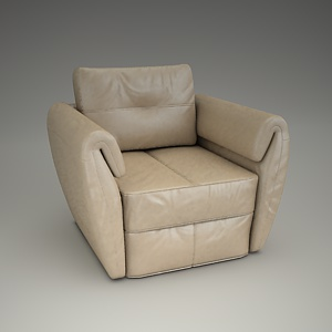 Frizzante Armchair 3d model