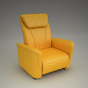 Home Cinema Armchair 3d model