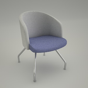 free 3d models - armchair IN ACCESS LOUNGE LU 220