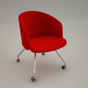 free 3d models - armchair IN ACCESS LOUNGE LU 225