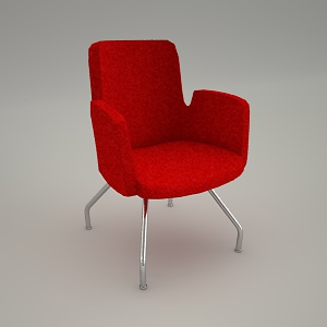 free 3d models - Conference armchair IN ACCESS AC 220