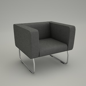 free 3d models - armchair 3d model - LEGVAN LG 421