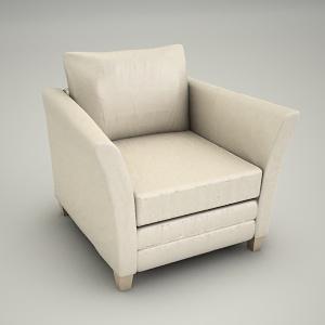 Armchair 3d Model Bari 3d 3d Studio Free 3d Models