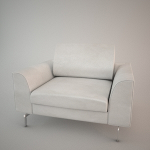 Armchair 3d model - BLUES BAKER 1