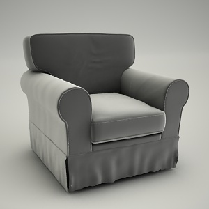 Armchair 3d model - Chicago 3d