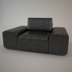 Armchair 3d model - HAVANA 1,5