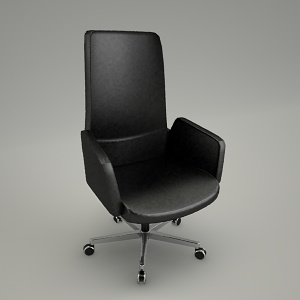 swivel chair 3d model IN ACCESS AC 102