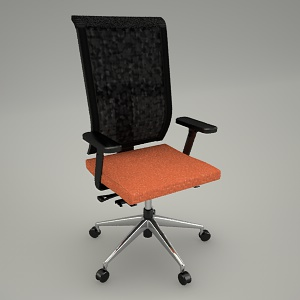 swivel chair 3d model - JOTT JT 102