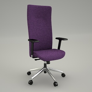 free 3d models - swivel chair PARTNET PT 103