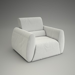 Prosecco Armchair 3d model