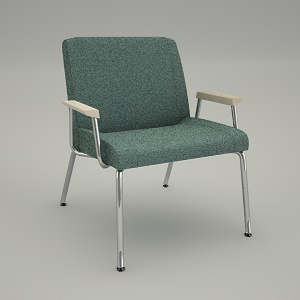 armchair 3d model - REST RS 420P