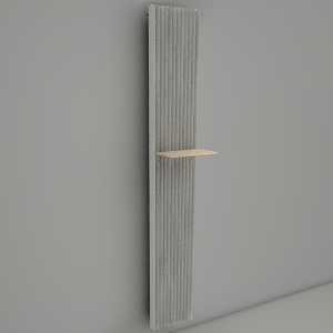 free 3d models - wall radiator IGUANA ALPLANO LARGE TABLE