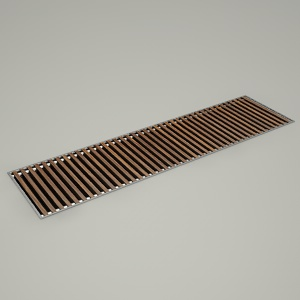free 3d models - canal radiator MINI CANAL B26 WOOD