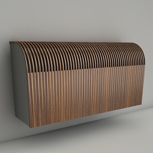 free 3d models - wall radiator KNOCKONWOOD 15 30x60