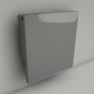 wall radiator LINEA PLUS 10 50x50