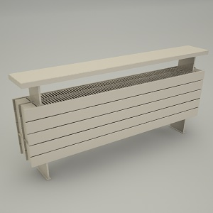 free 3d models - standing radiator PANEL PLUS BE 31x120