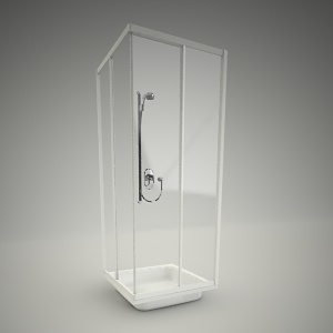 Square shower akord 80