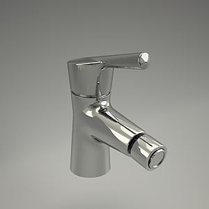 free 3d models - KIDO bidet mixer 3d model 392150575_3