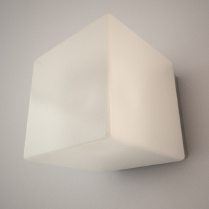 free 3d models - Wall lamp 3D model - CUBI