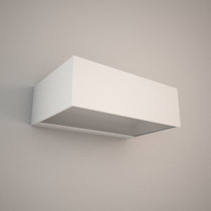 free 3d models - Wall lamp 3D model - DUE