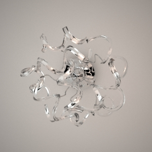 Wall lamp 3D model - GENUA - MAXlight - Free 3d models - Free 3D Base