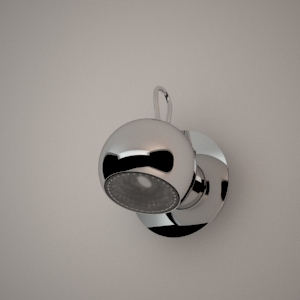free 3d models - Wall lamp 3D model - MALAGA