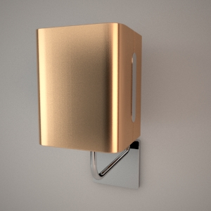 Wall lamp 3D model - RIALTO