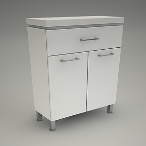 free 3d models - Commode OLIVIA