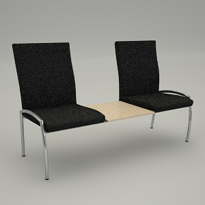 free 3d models - chairs combined VECTOR VT 423B