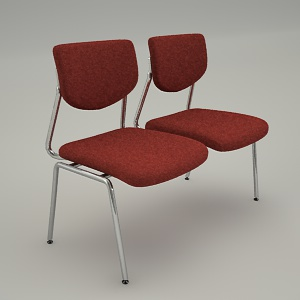 chairs combined 3d model - VIM V3 422