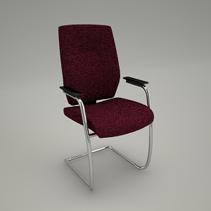 free 3d models - Conference chair ATRIA AR 230