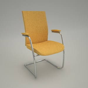 free 3d models - Conference chair EKTA EK 230