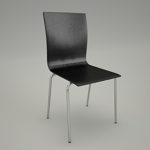 free 3d models - Conference chair ORTE OT 215
