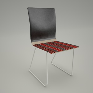 free 3d models - Conference chair ORTE OT 271
