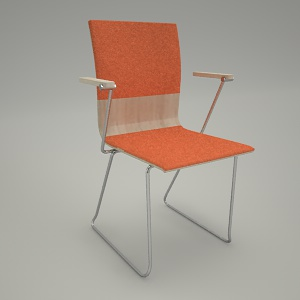 free 3d models - Conference chair ORTE OT270