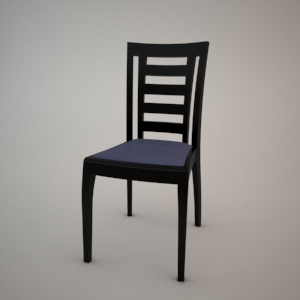Chair A-0710 3d model FAMEG MODERN