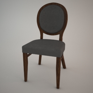 Chair A-0951 3d model FAMEG CLASSIC