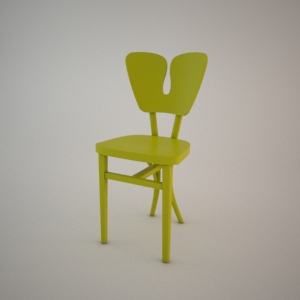 free 3d models - Chair A-1315 3d model FAMEG MODERN