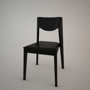 Chair A-1319 3d model FAMEG MODERN