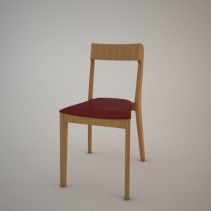Chair A-1320 3d model FAMEG MODERN
