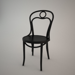 free 3d models - Chair A-31 3D model FAMEG BENT