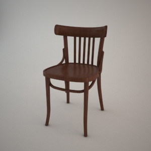 Chair A-788_VERT 3D model FAMEG BENT
