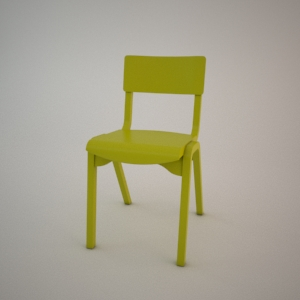 Chair A-9349 3d model FAMEG MODERN