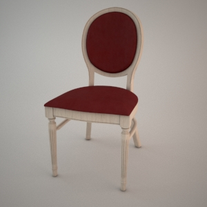 Chair A-9416 3D model FAMEG CLASSIC