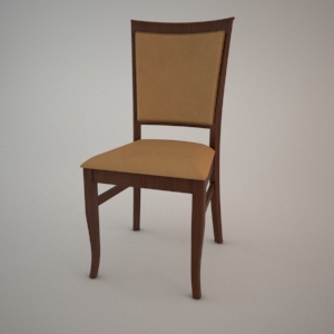 Chair A-9866-1 3D model FAMEG CLASSIC