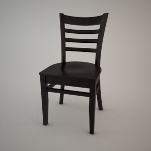 Chair A-9907 3D model FAMEG CLASSIC