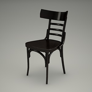 free 3d models - chair 3d model - CLASSIC BENT A-0542